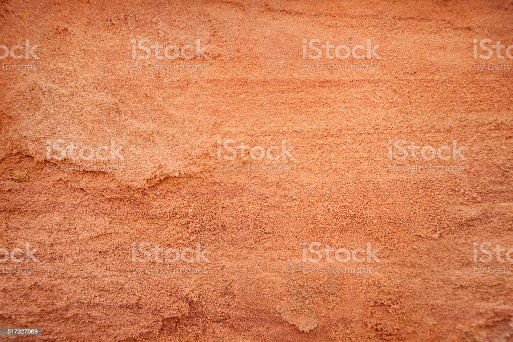 Red sand stock photo