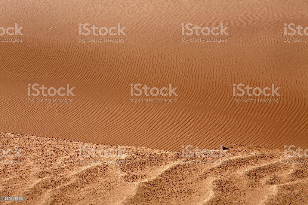 Red sandy dunes stock photo