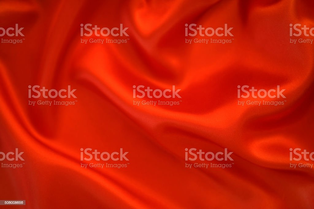 Red satin background stock photo
