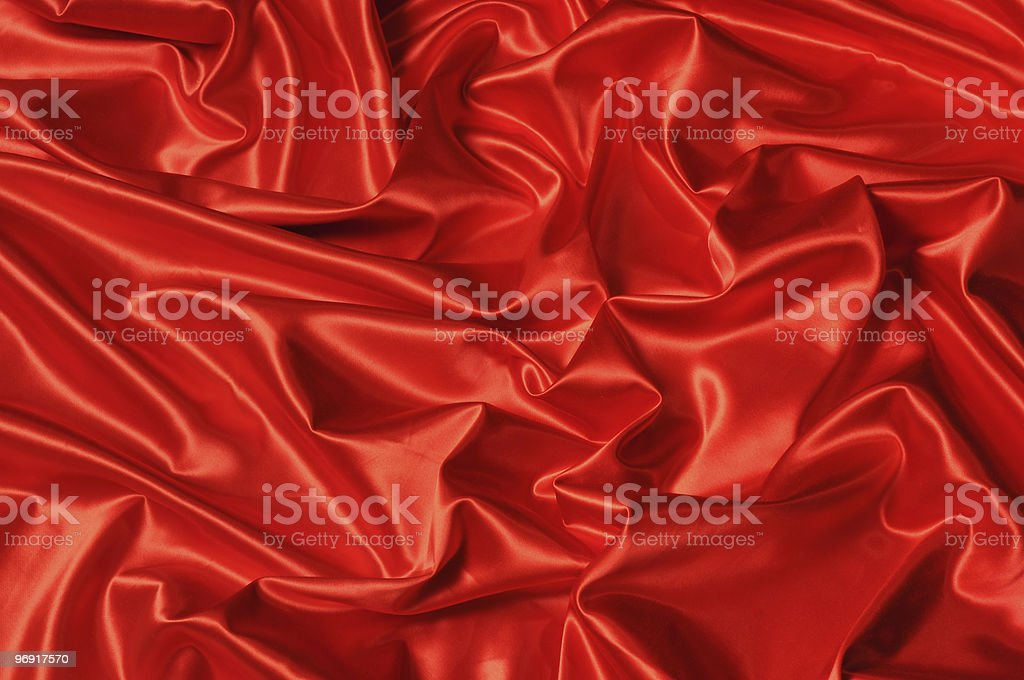 Red Satin background royalty-free stock photo