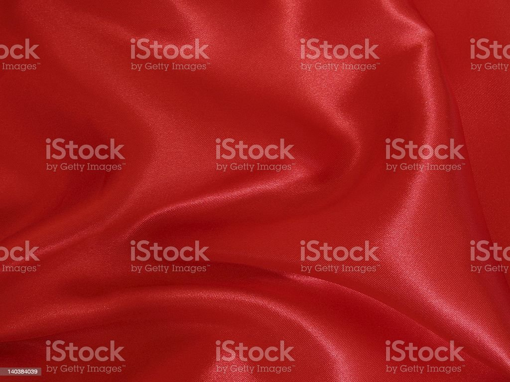 Red satin royalty-free stock photo