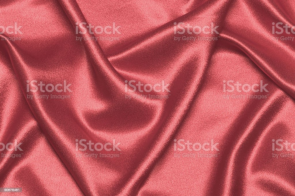 Red Satin royalty-free stock photo