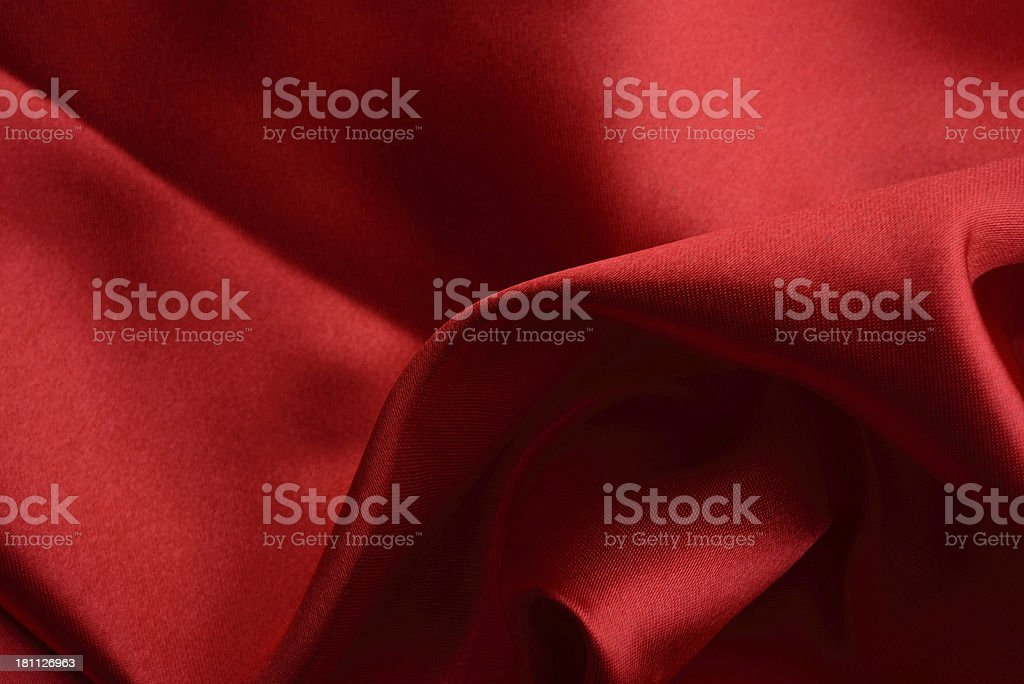 Red satin textile background royalty-free stock photo