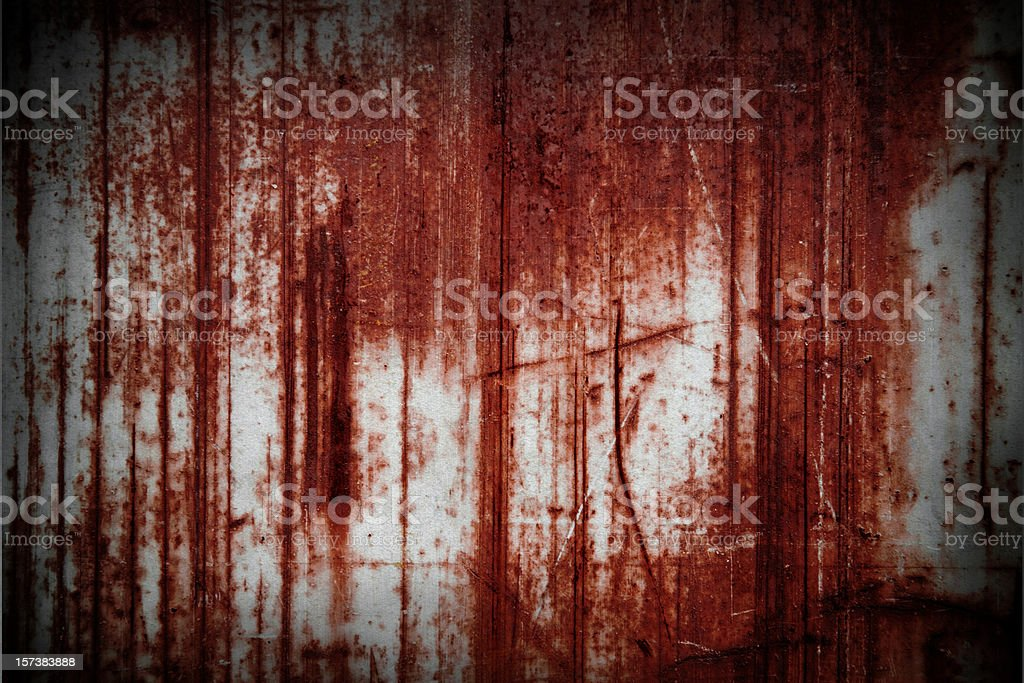 Red scratches stock photo