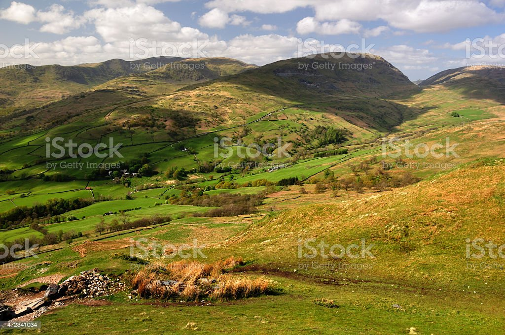 Red Screes stock photo