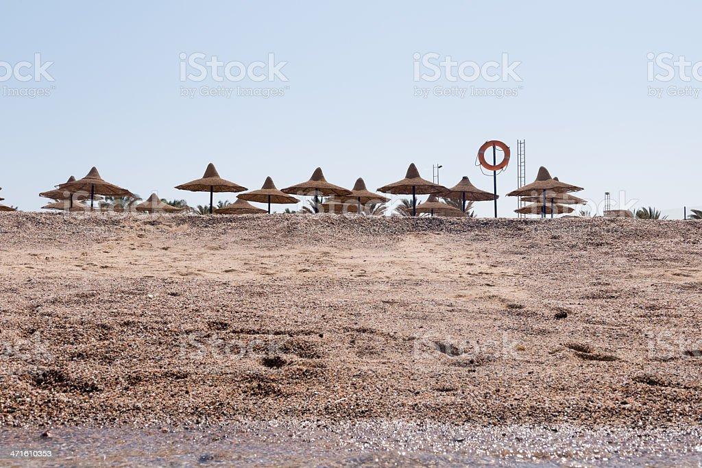 Red Sea beach royalty-free stock photo