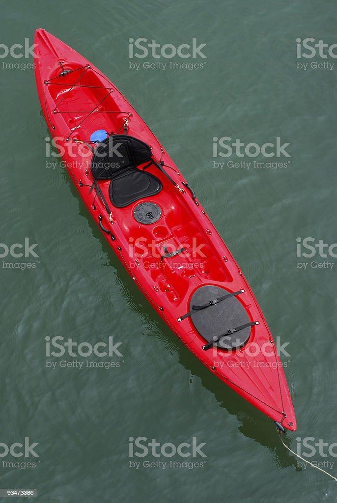 Red Sea Kayak royalty-free stock photo