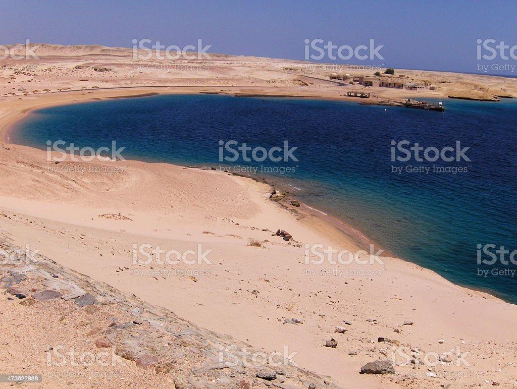 Mar Rojo, cerca de Sharm el-Sheikh foto de stock libre de derechos