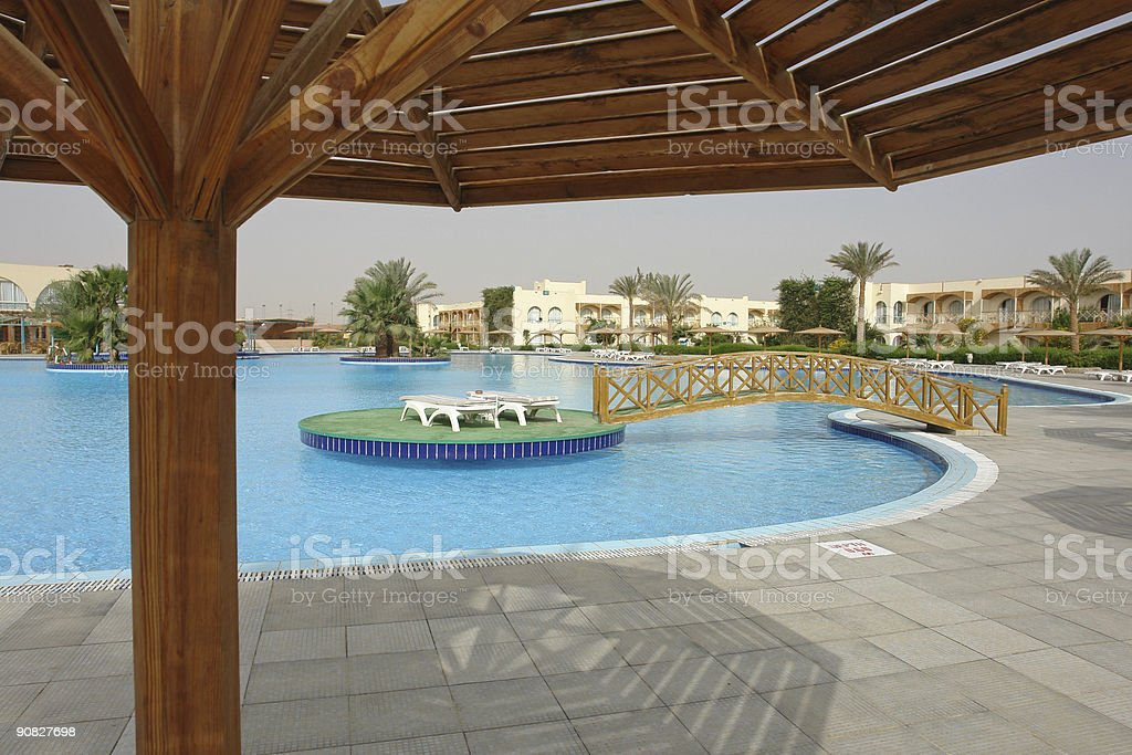 Red sea resort royalty-free stock photo