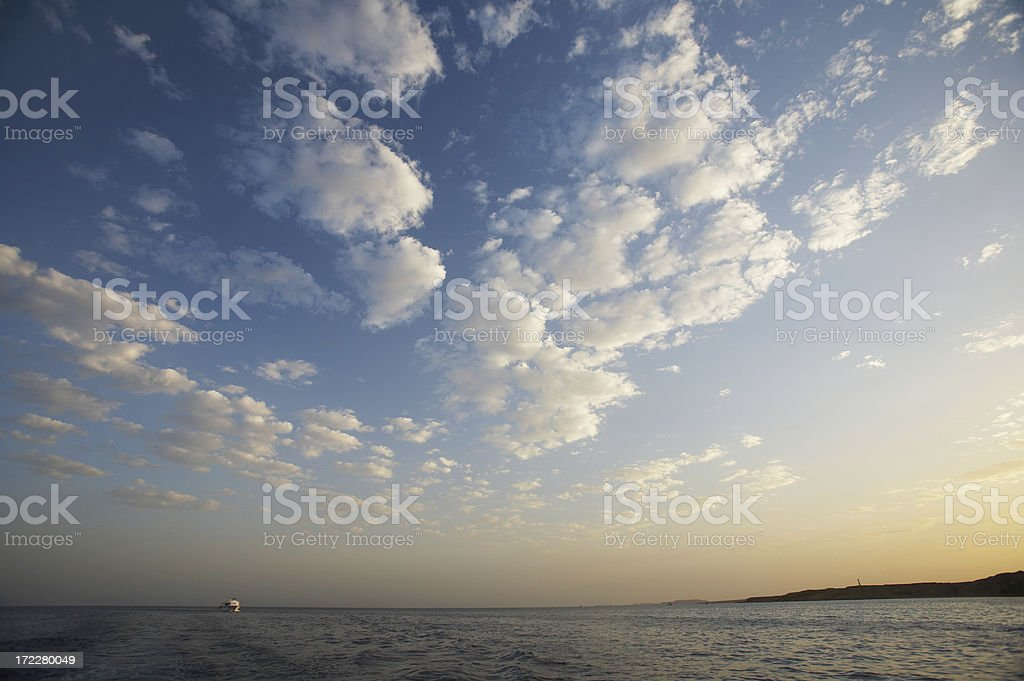 Red sea shore royalty-free stock photo