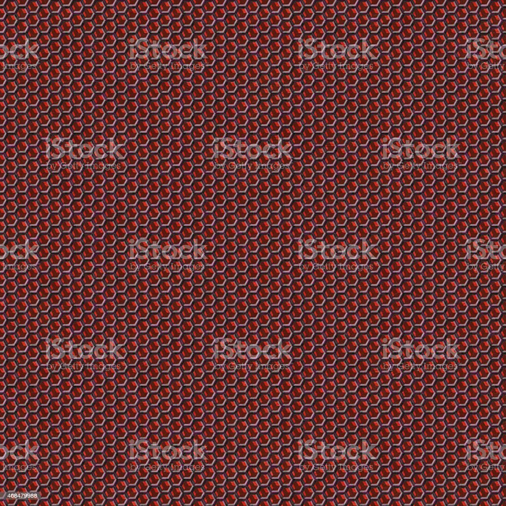 Red seamless wire mesh texture vector art illustration