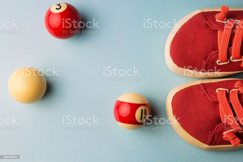 red shoes for little girl stock photo