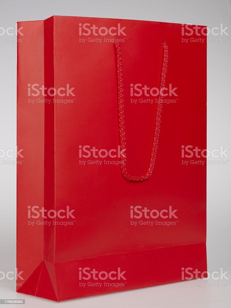Red Shopping Bag royalty-free stock photo
