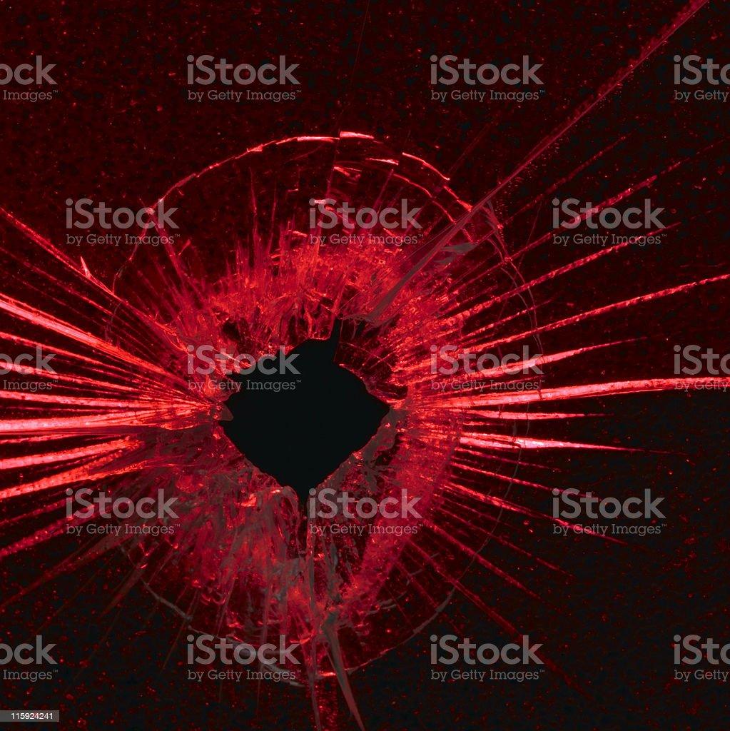 red shot stock photo