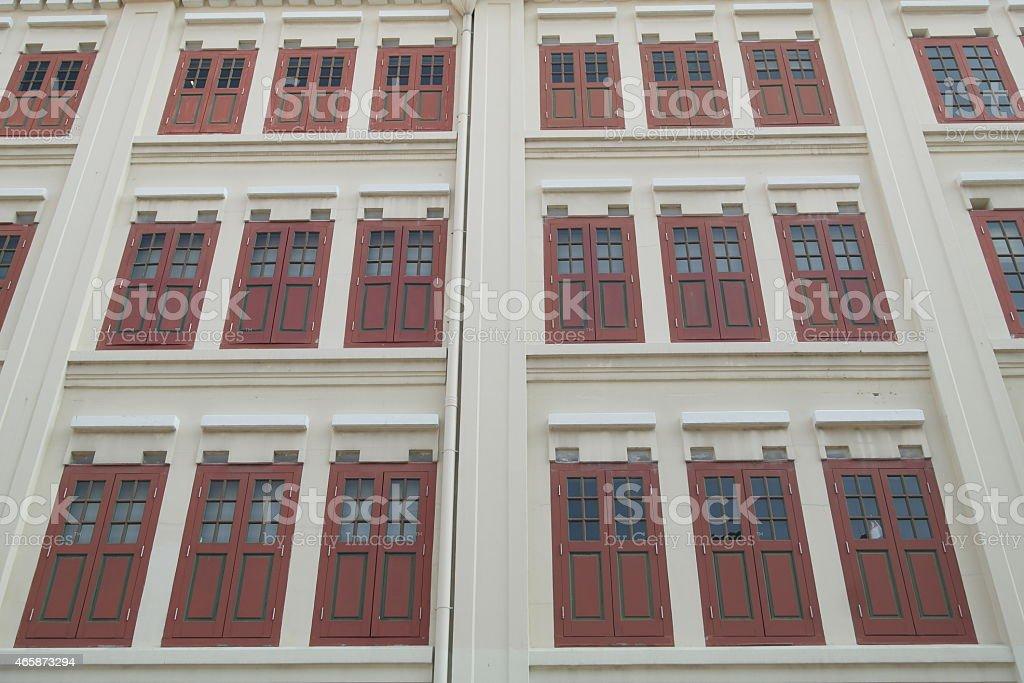 red shutter stock photo