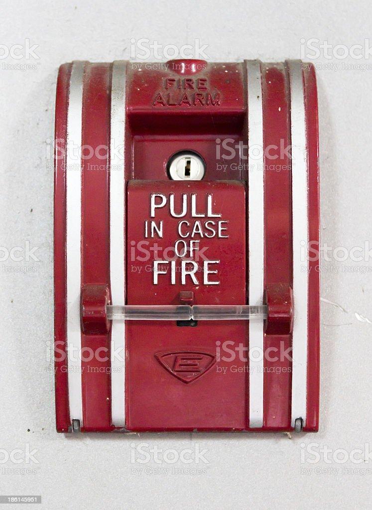 Красный огонь предупреждение Знак для Стоковые фото Стоковая фотография
