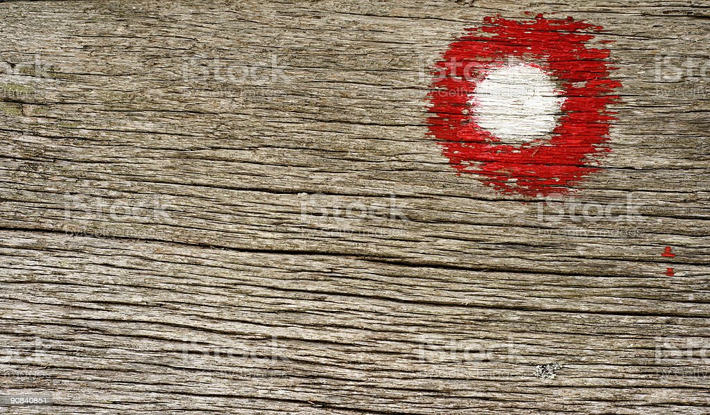 Red sign royalty-free stock photo