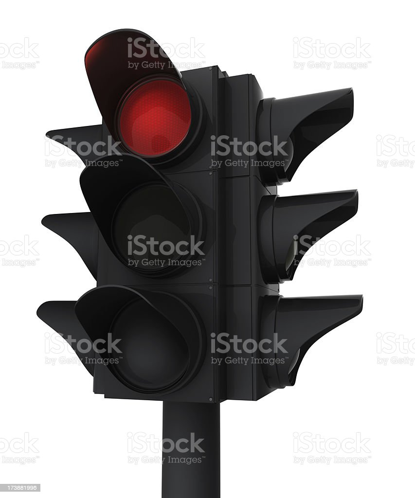 Red Signal royalty-free stock photo