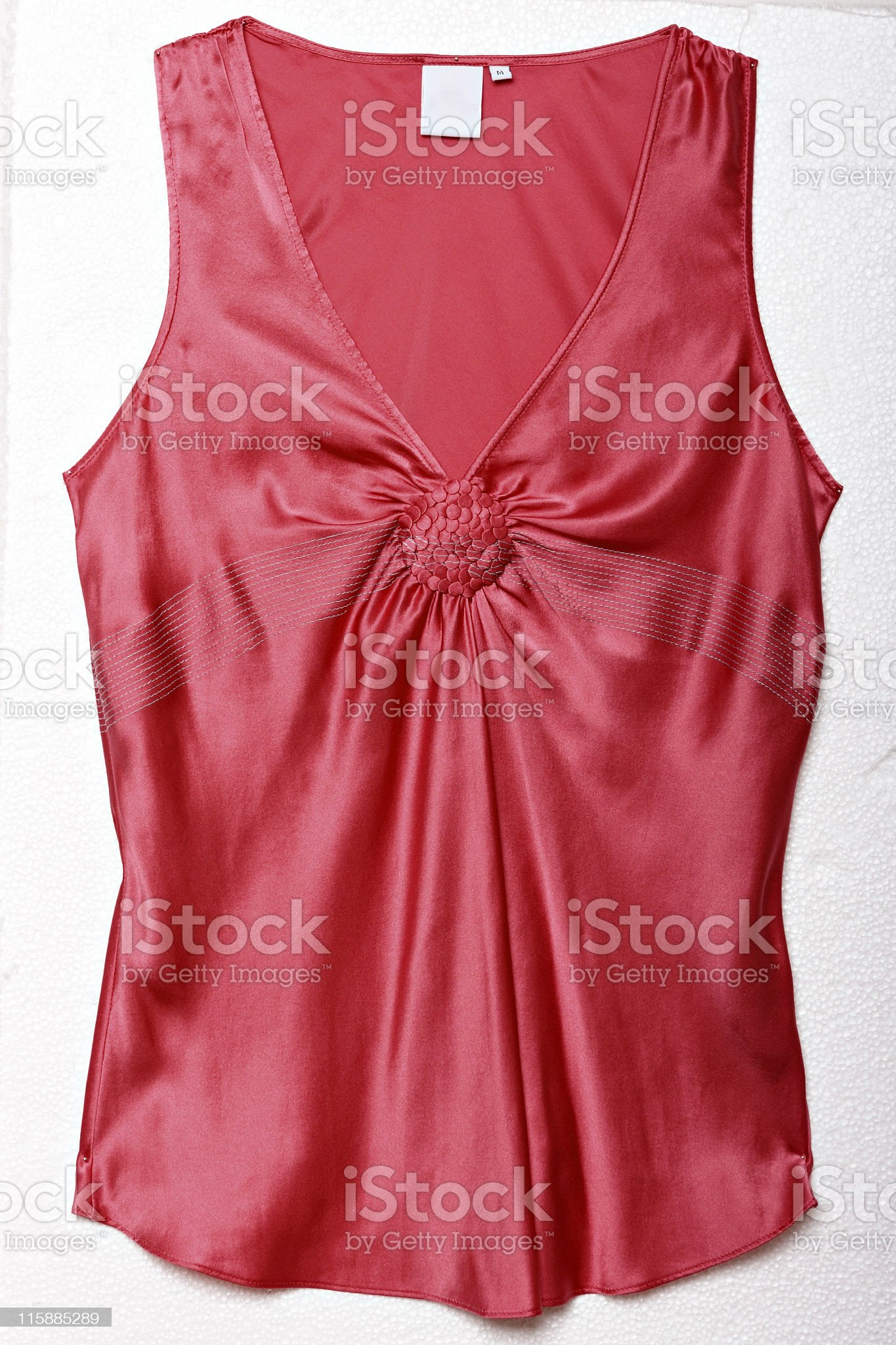 red silk blouse royalty-free stock photo