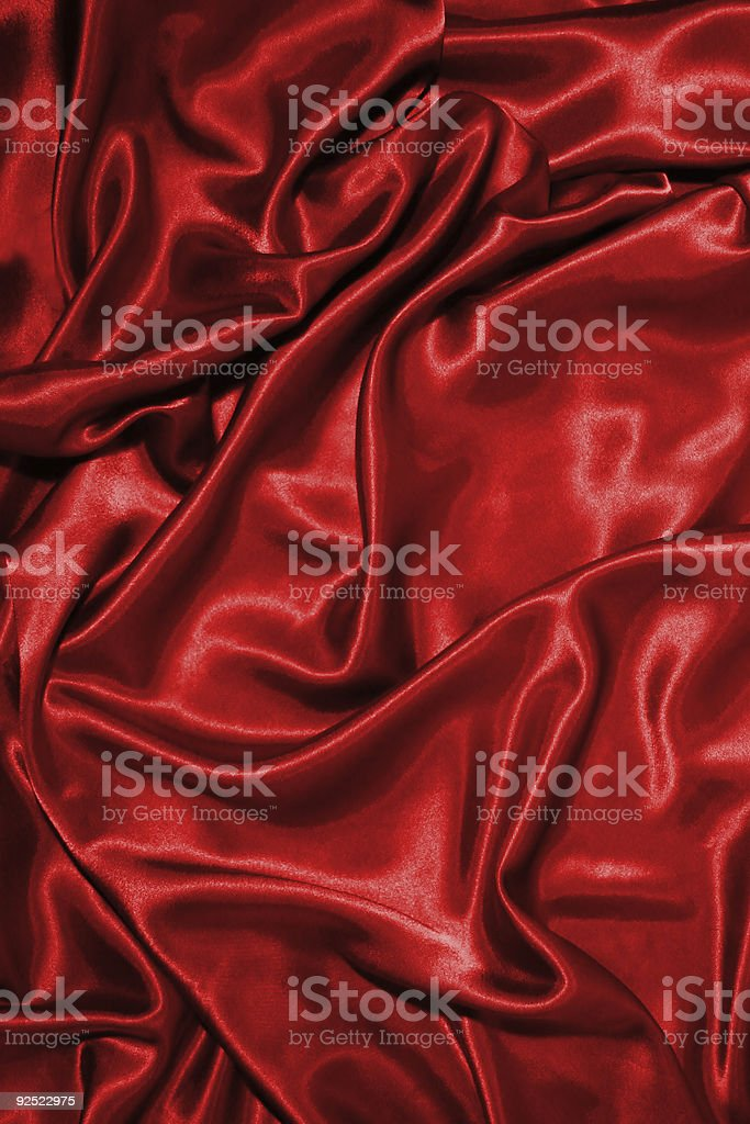 red silk royalty-free stock photo