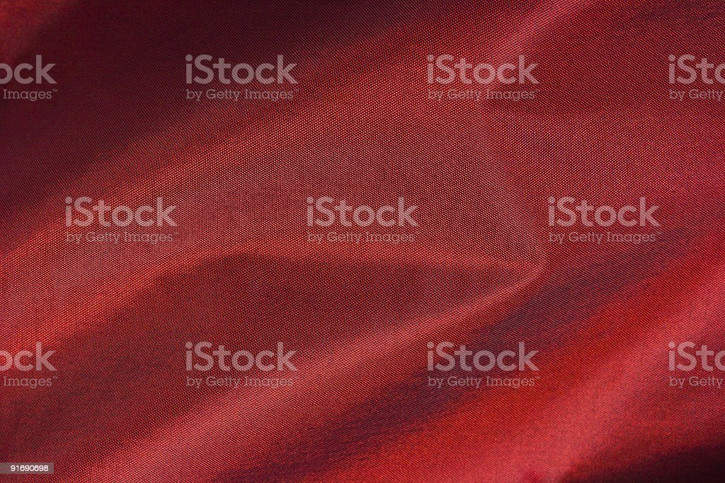 Red silk, textile background royalty-free stock photo