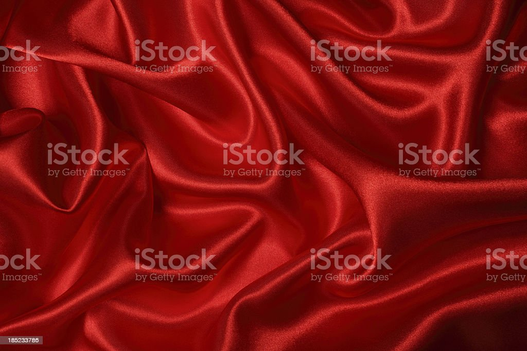 Red Silk Texture stock photo