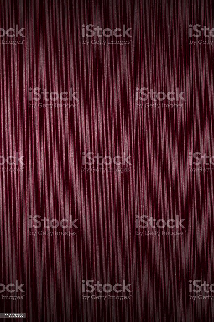 Red silk thread texture background against black background stock photo