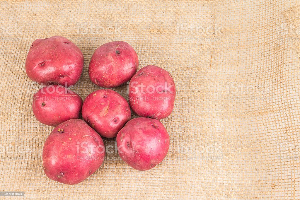 Red Skin Potatoes stock photo