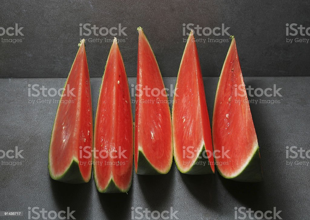 red slices royalty-free stock photo
