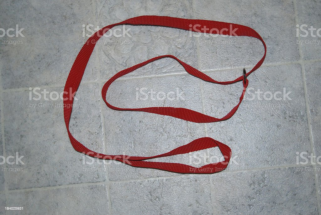 Red Slip Lead royalty-free stock photo