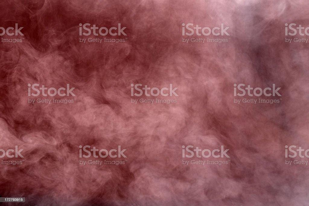 Red Smoke Background stock photo