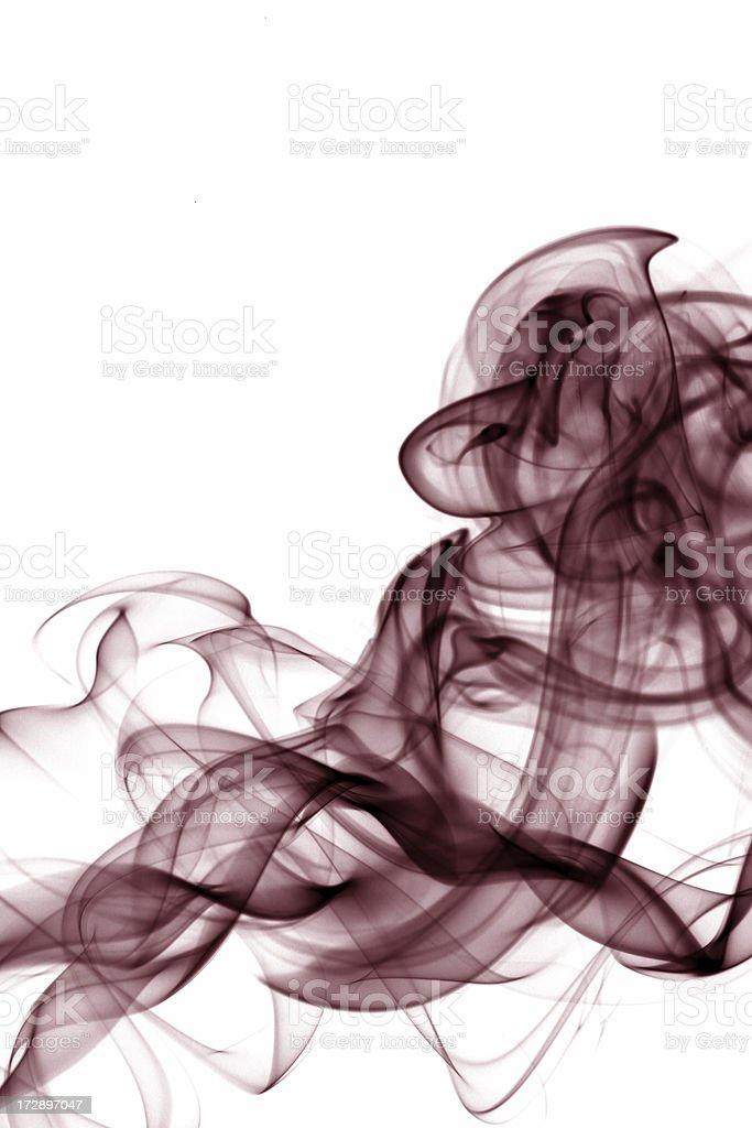 Red Smoke royalty-free stock photo