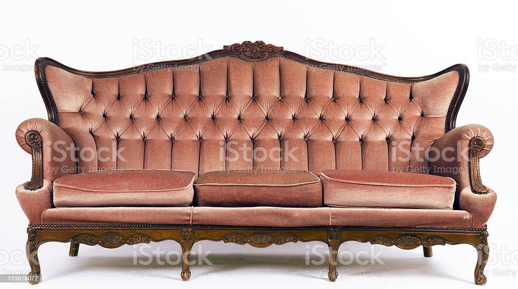 Red Sofa royalty-free stock photo