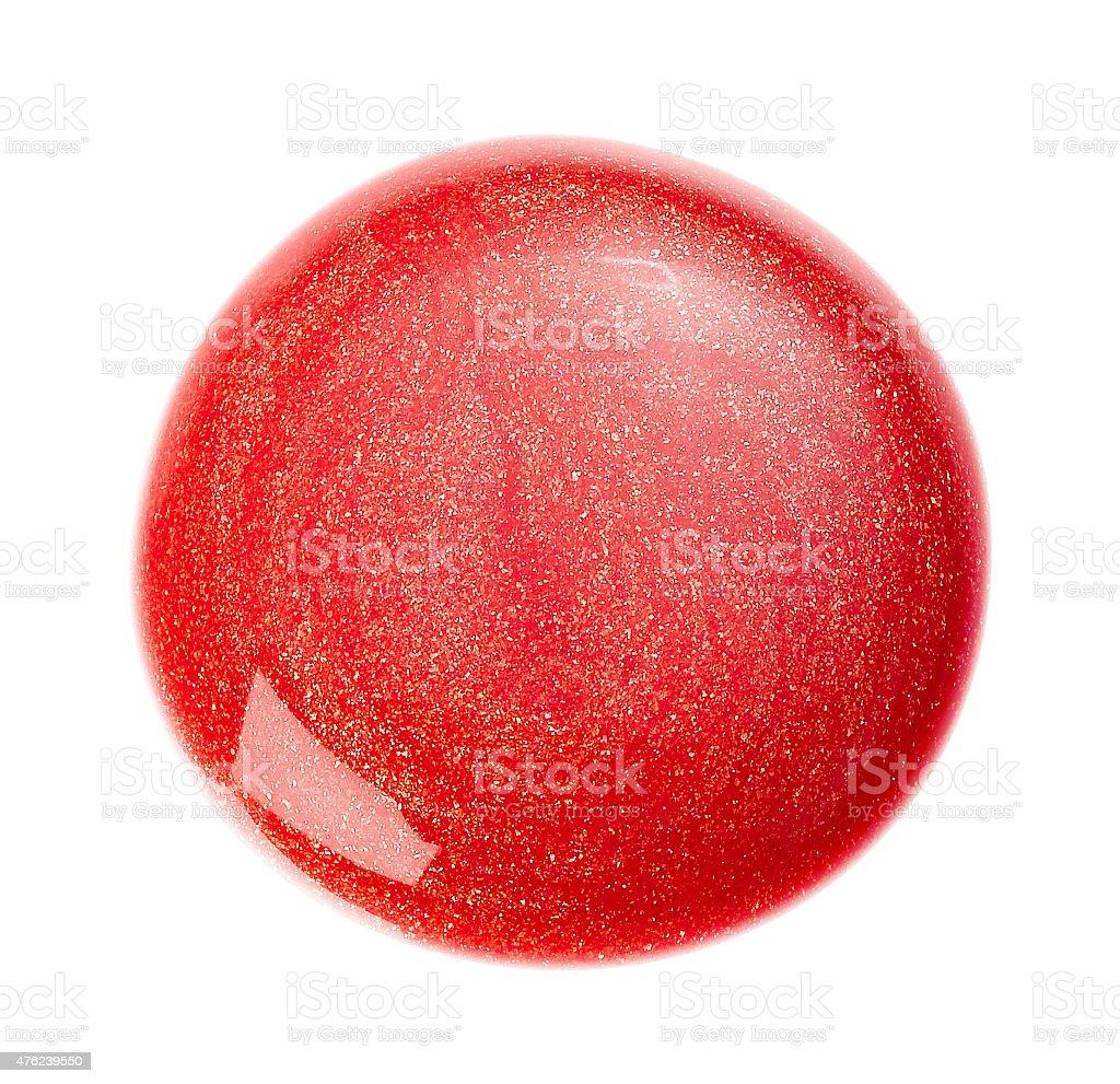 red sparkle blob stock photo