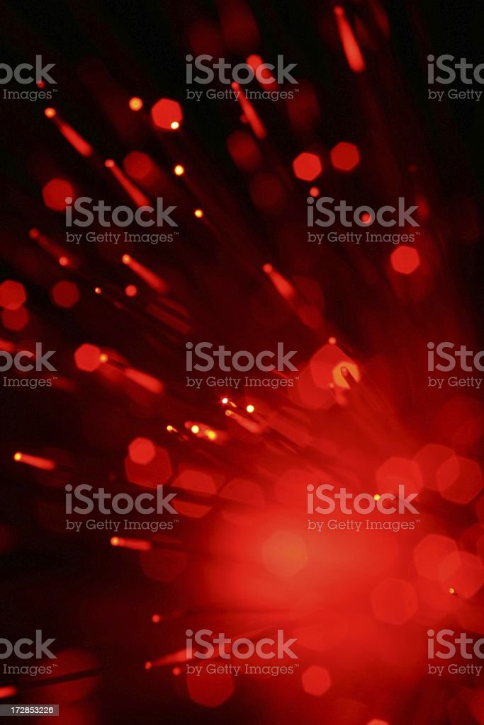 Red Sparkler royalty-free stock photo