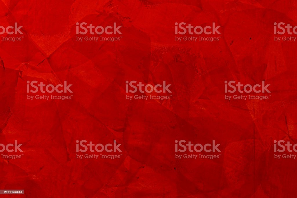 Rote Spachteltechnik stock photo