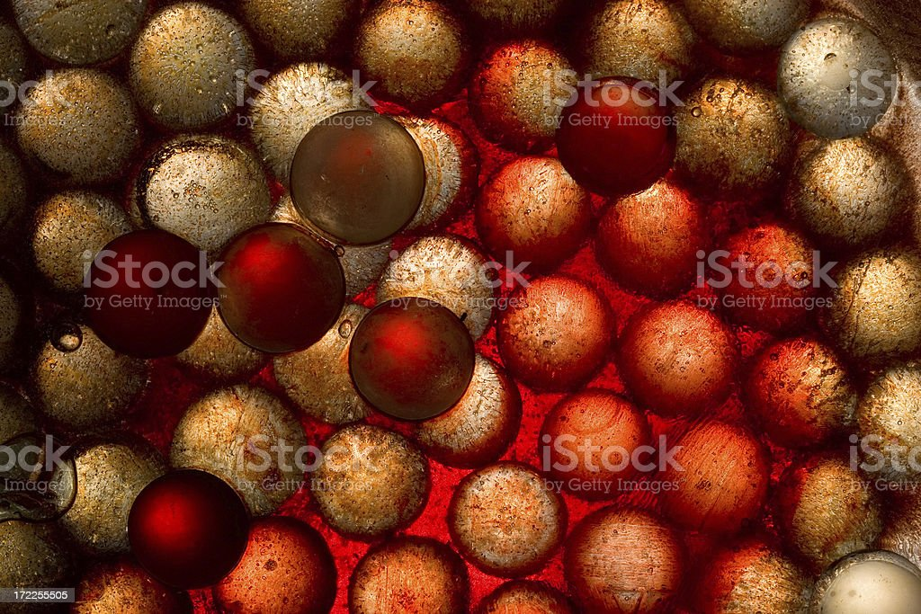 Red Sphere Abstract stock photo