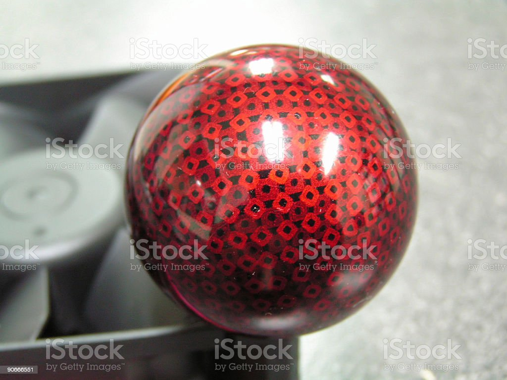 Red Sphere stock photo