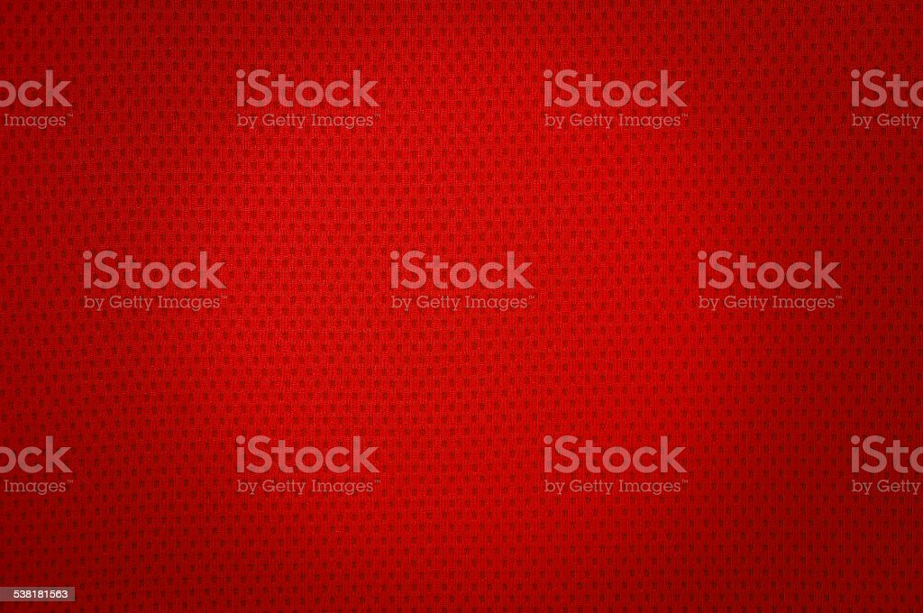 Red sport mesh cloth texture stock photo