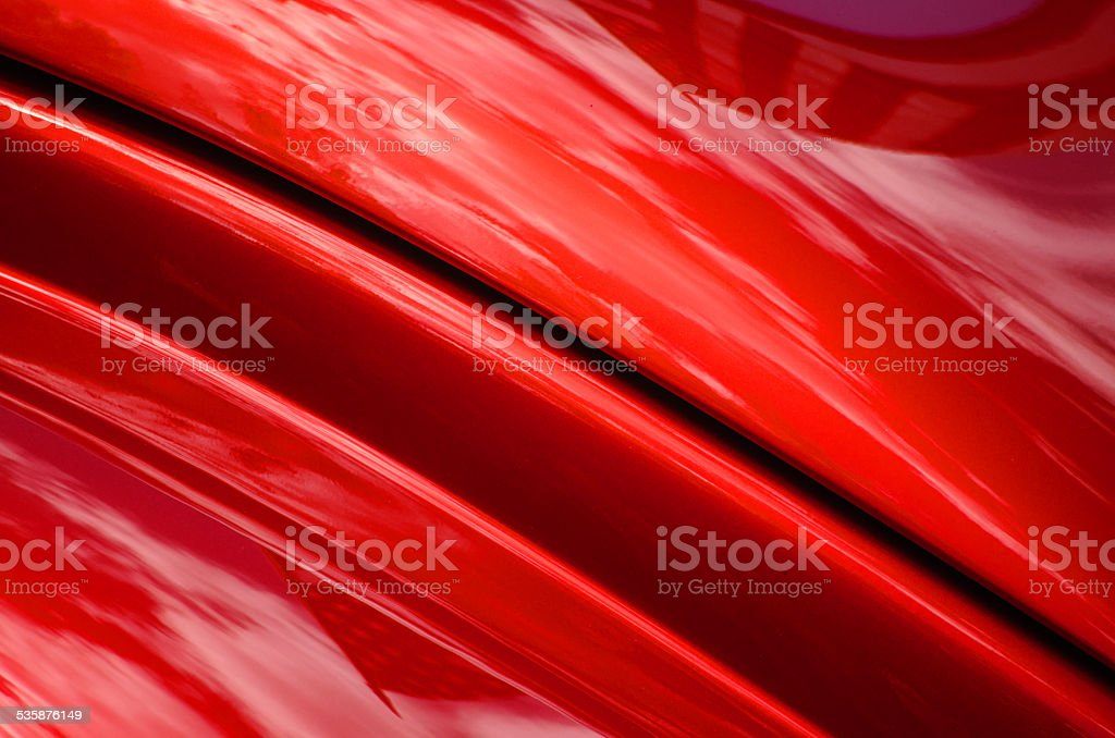 Red Sportscar Abstract stock photo