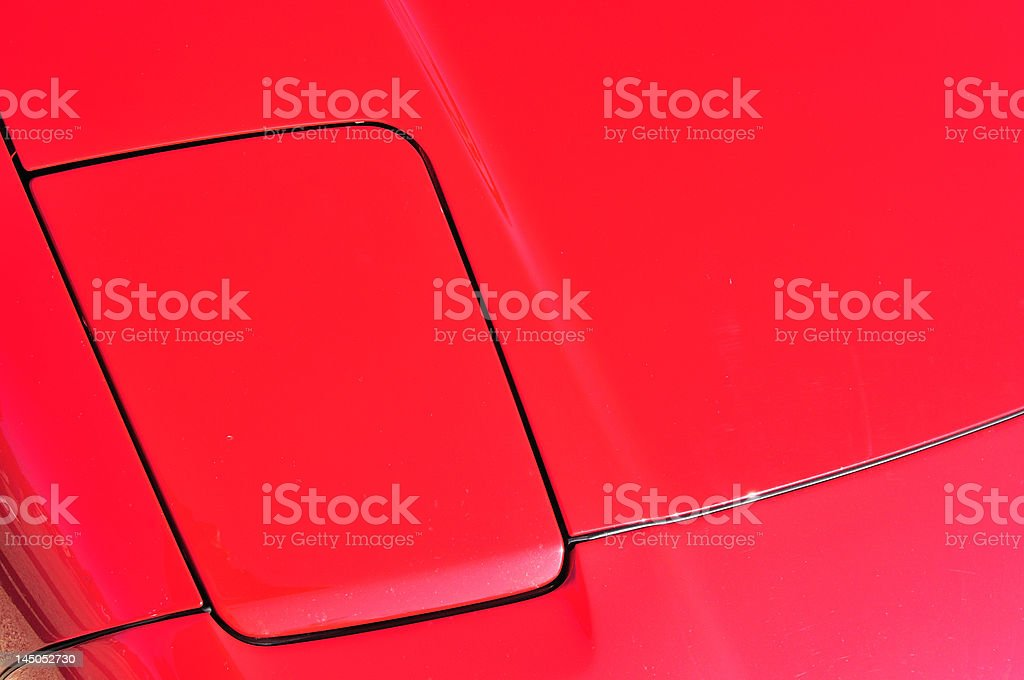 Rot Sport Auto Lizenzfreies stock-foto