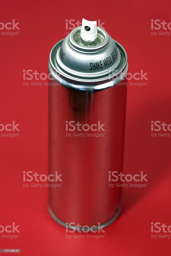 Red Spray royalty-free stock photo