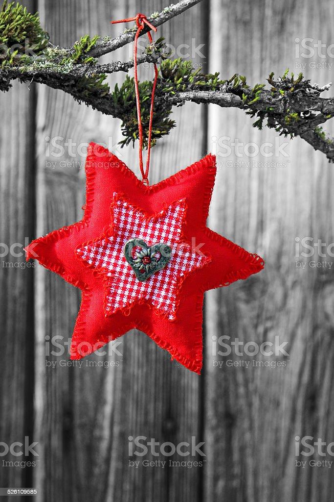 Étoile rouge photo libre de droits