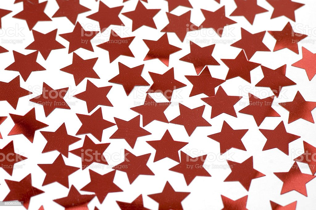 Red stars on white royalty-free stock photo