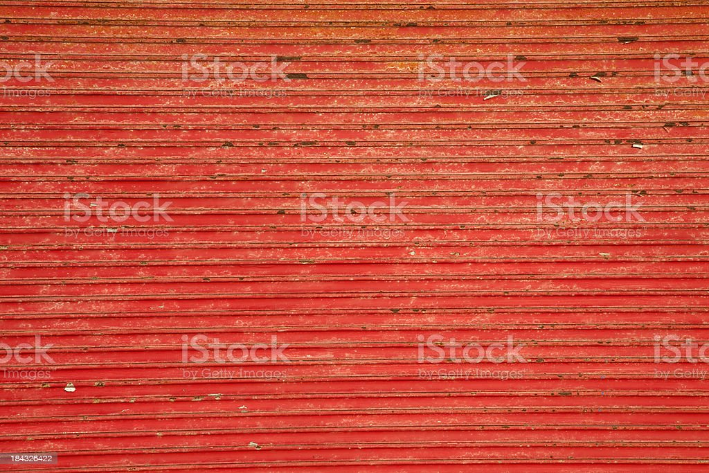 Red steel door background royalty-free stock photo