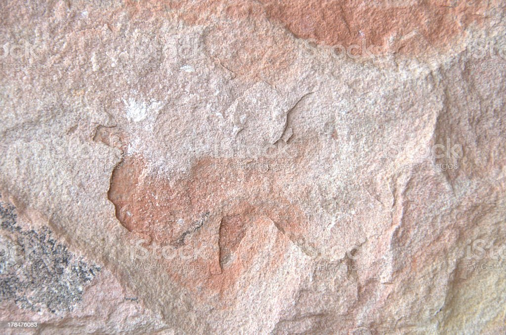 Red Stone Background royalty-free stock photo