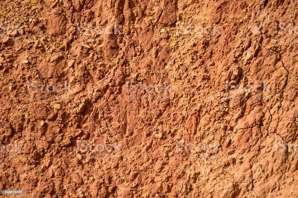 Red stone stock photo
