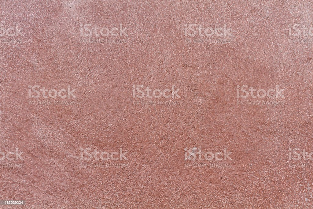 Red stone plate with white grain stock photo
