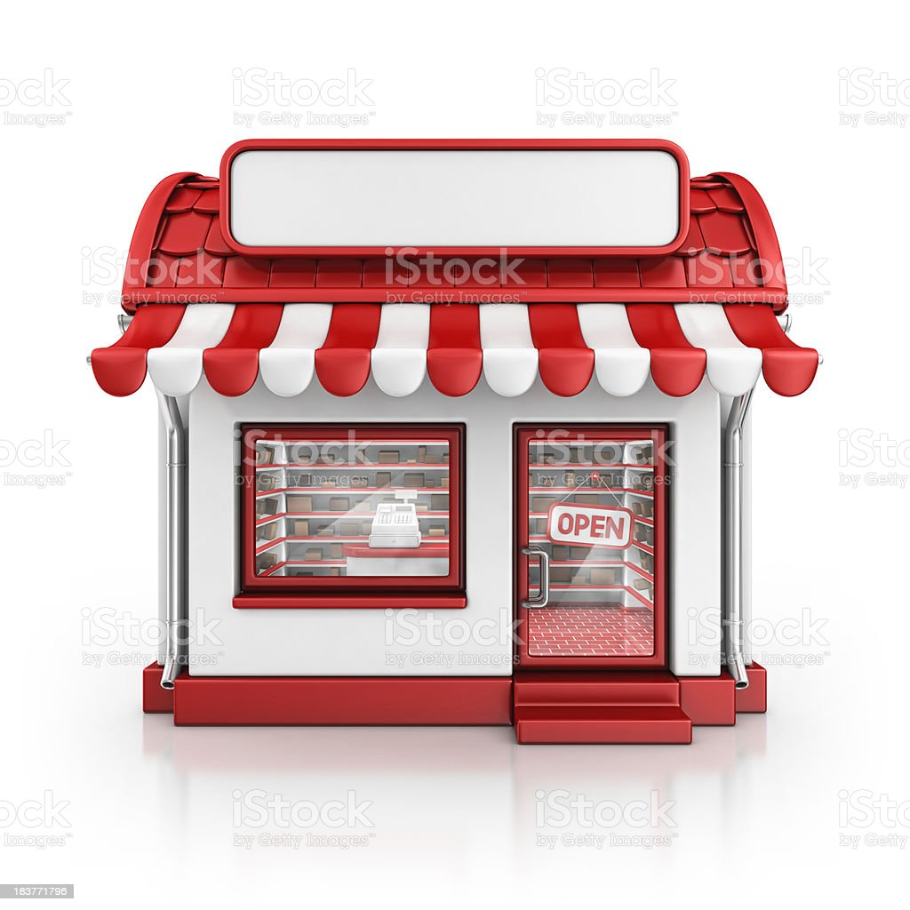 red store royalty-free stock photo