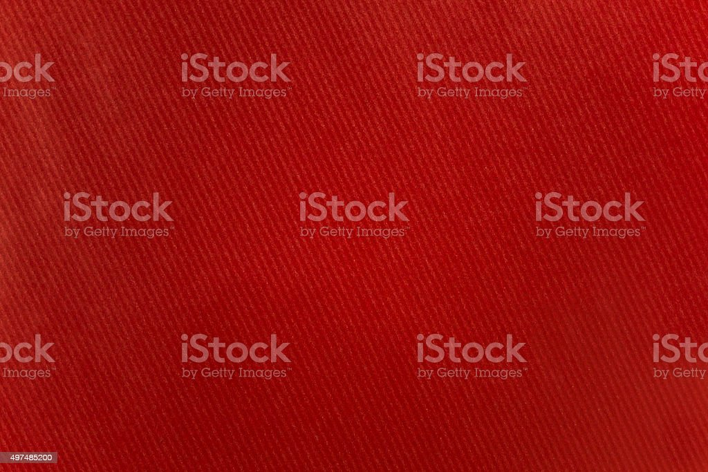 red striped craft recycle paper texture, closeup stock photo